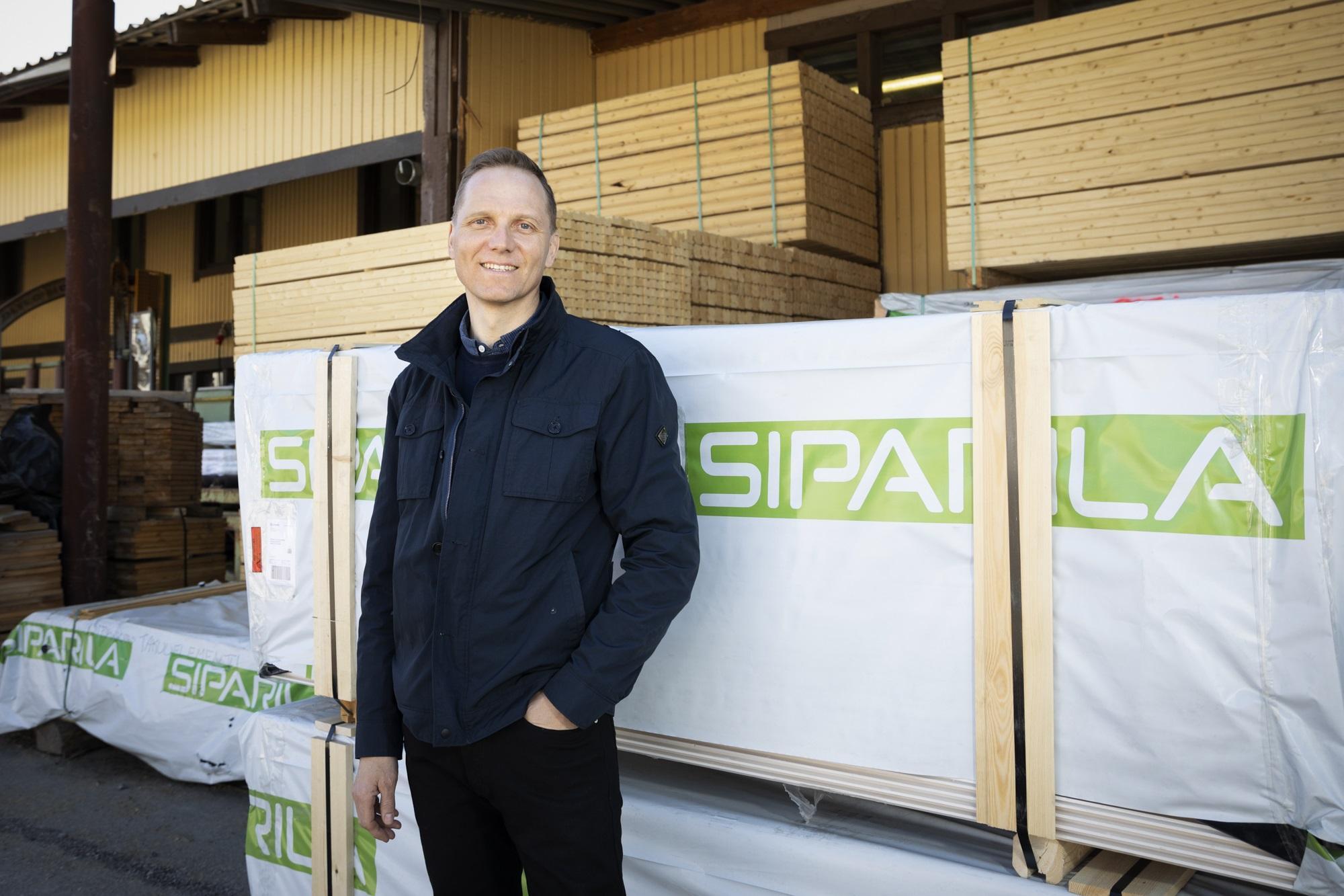 Siparilan toimitusjohtaja Juha Sojakka
